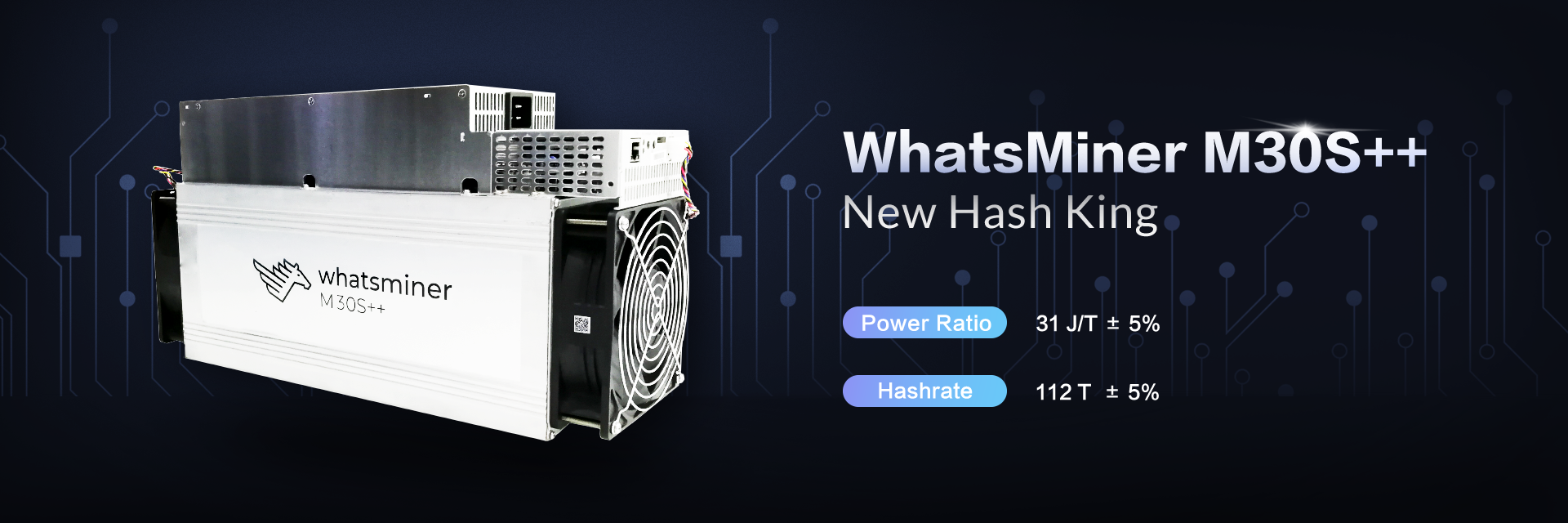 WhatsMiner M30s++ buy